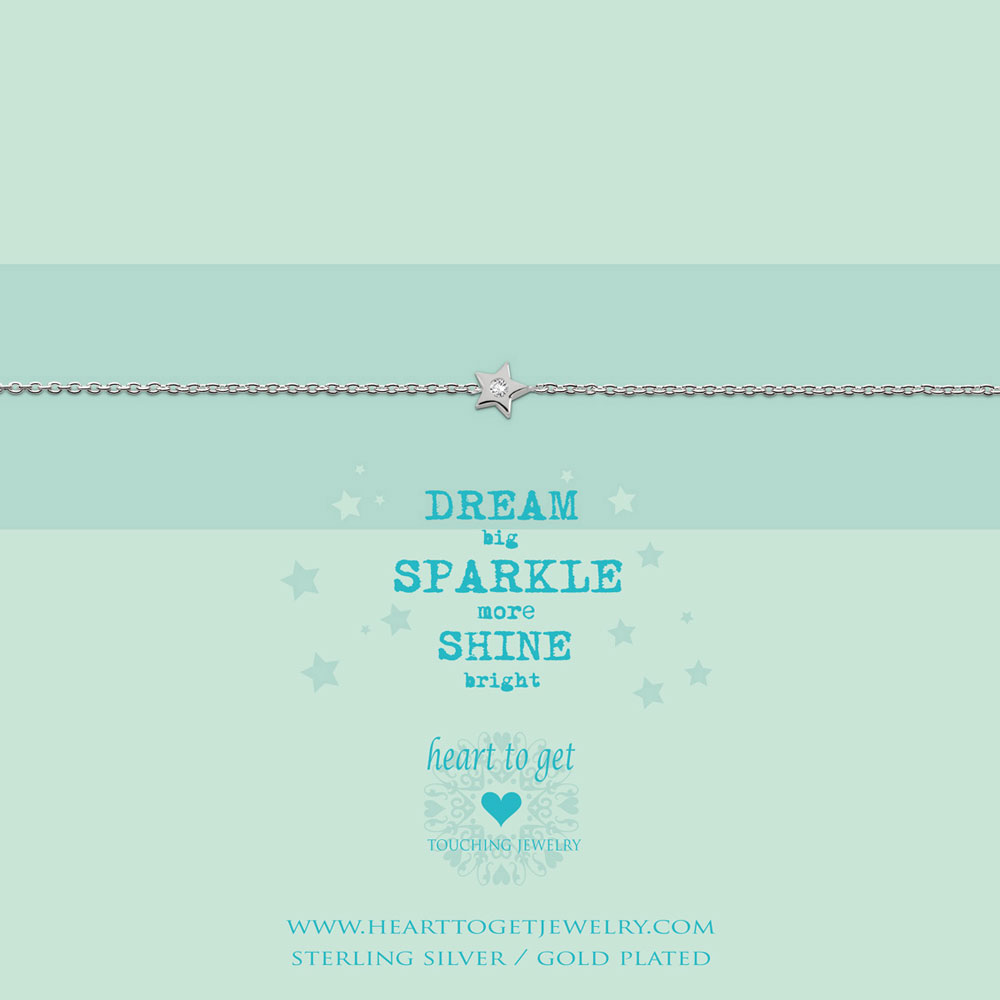 Bracelet Star zirkon