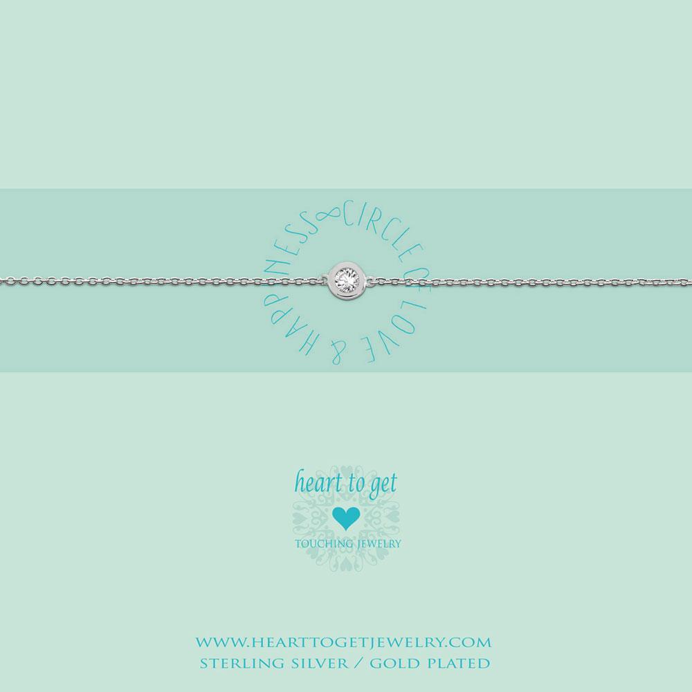 bracelet circle zirkon