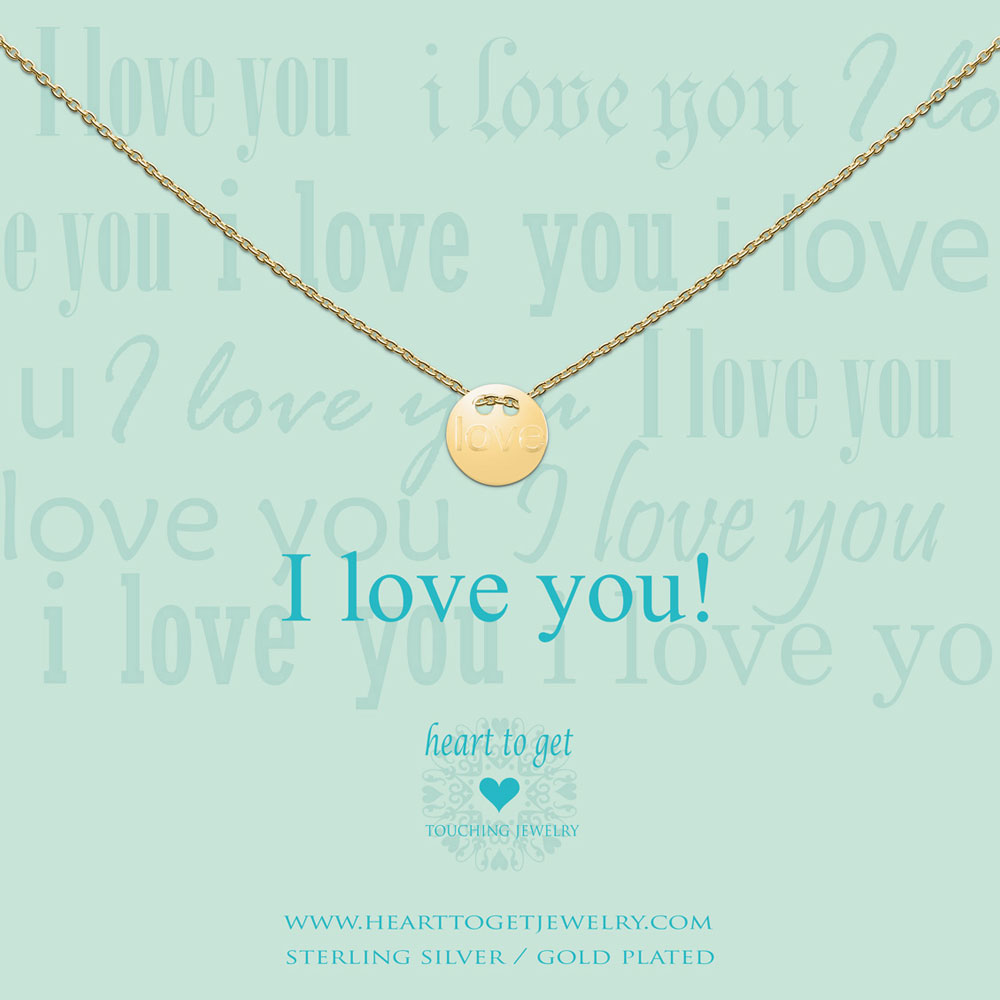 Necklace love coin