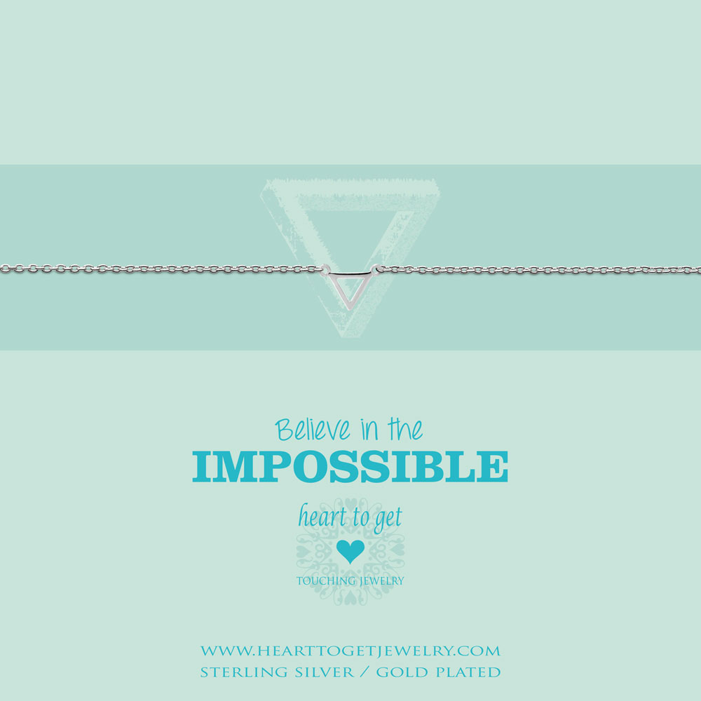 Bracelet small triangle