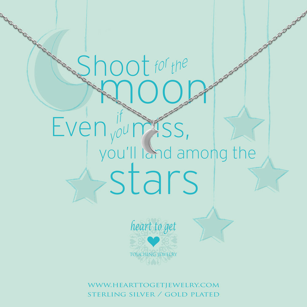 Necklace small moon
